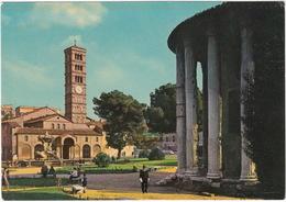POLICE - POLICEMAN - Roma - Tempio Di Vesta E Chiesa S Maria In Cosmedin - (Italia) - Politie-Rijkswacht