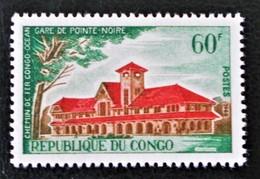 GARE DE POINTE-NOIRE 1966 - NEUF ** - YT 197 - MI 109 - Congo - Brazzaville