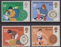 Great Britain 1981 Duke Of Edinburgh Awards 4v ** Mh (41289L) - 1952-.... (Elizabeth II)