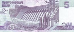KOREA P. 58 5 W 2002 UNC (2 Billets) - Corée Du Nord