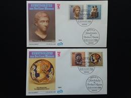 BERLINO 1984 - 2 F.D.C. Museo Berlino + Spese Postali - [5] Berlino