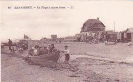14-BERNIÈRES- LA PLAGE À MARÉÉ BASSE - Autres Communes