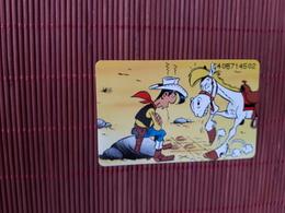 Lucky Luke Telecarte Neuve Tirage  1500 EX  2 Scans Rare - Comics