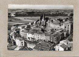 CPSM Dentelée - MEZEL (63) - Vue Aérienne Du Quartier De L'Eglise Et Du Château En 1966 - France