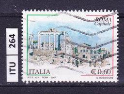 ITALIA REPUBBLICA  2007, Roma Capitale, Usato - 6. 1946-.. República