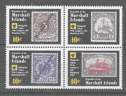 Serie De Islas Marshall Nº Yvert 51/54 ** - Marshall Islands