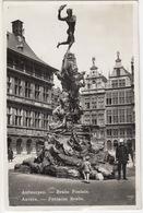 POLICE - POLITIE-RIJKSWACHT : Antwerpen - Brabo Fontein - Anvers - Fontaine Brabo - 1933 - (België/Belgique) - Politie-Rijkswacht