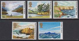 Great Britain 1981 Landscapes 5v ** Mnh (41289P) - 1952-.... (Elizabeth II)
