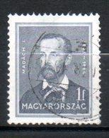 HONGRIE Madach 1932-37 N°449 - Hongrie