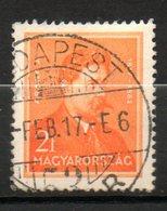 HONGRIE  Janos Arany 1932-37 N°450 - Hongrie