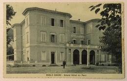 RIOLO BAGNI - GRAND HOTEL DU PARC  VIAGGIATA FP - Ravenna