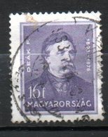 HONGRIE  Ferenc Deak 1932-37 N°454 - Hongrie