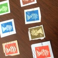 INGHILTERRA REGINA VERDINO - Stamps