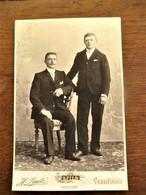 Antieke  Foto Op Karton  Door H. SMITZ - VERHEUGEN   EECLOO - Oud (voor 1900)
