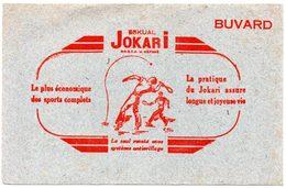 Buvard Eskual Jokari. Le Plus économique Des Sports Complets. - Sport
