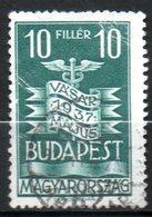HONGRIE  Foire De Budapest 1937 N°486 - Hongrie