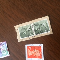 INGHILTERRA REGINA VERDE GRIGIO - Stamps