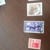 ITALIA AL LAVORO VIOLA - Stamps