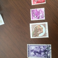 ITALIA CASTELLI LIRE 200 - Stamps