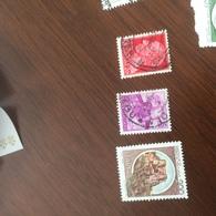 ITALIA MICHELANGIOLESCA VIOLA - Stamps