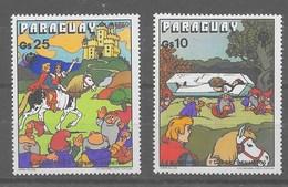 Serie De Paraguay Nº Yvert A-809/10 ** - Paraguay