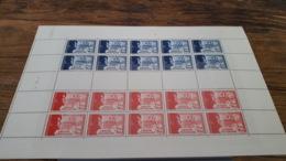 LOT 423629 TIMBRE DE FRANCE NEUF** LUXE FEUILLE N°565 VALEUR 275 EUROS BLOC - Full Sheets