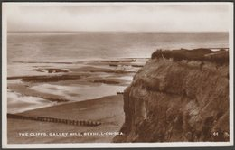 The Cliffs, Galley Hill, Bexhill-on-Sea, Sussex, C.1950 - Excel Series RP Postcard - England