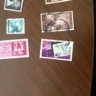 ITALIA IL CAP VIOLA - Stamps
