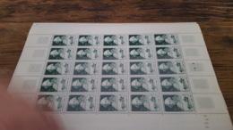 LOT 423643 TIMBRE DE FRANCE NEUF** LUXE FEUILLE N°828 VALEUR 32,5 EUROS BLOC - Feuilles Complètes