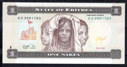 ERITREA 1997. ONE NAFKA NUEVOS SIN CIRCULAR. MINT UNCIRCULATED . B1183 - Eritrea