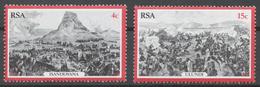 South Africa 1979 Mi# 556-57** BATTLE SCENES - Ungebraucht