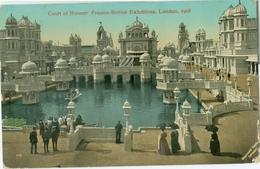 London 1908; Franco-British Exhibition. Court Of Honour - Circulated. (Valentine & Sons Ltd.) - London