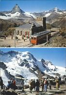 11715815 Gornergrat Zermatt Station Mit Matterhorn Gornergrat Zermatt - VS Valais