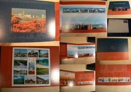 Chine - 2000 - Document Cartonné Avec Timbres, Cp Et Feuillet - Zone économique De Shenzhen - Tirage : 5000 - Collections (without Album)