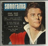SONORAMA . DISQUES SOUPLE . N° 14  . DECEMBRE 1959 . GERARD PHILIPPE TOUJOURS VIVANT . COMPLET - Formats Spéciaux
