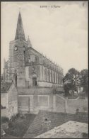 L'Église, Long, Somme, C.1910 - Bigand CPA - France
