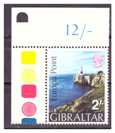 GIBILTERRA - 1970 - PUNTA EUROPA. CON GUTTER. - MNH** - Gibilterra