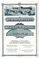 Buvard Boyauderie Méridionale à Toulouse. Matériel Et Outillage Pour Boucheries.... - Blotters