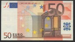 RARE GERMANY X 50 EURO  R035  - TRICHET   CIRCULATED - EURO