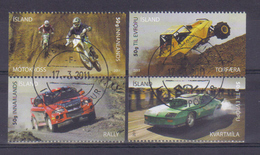 Iceland 2011 Motorsport Y.T. 1237/1240  (0) - 1944-... Republic