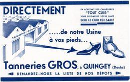 Buvard Tanneries Gros à Quingey (Doubs). - Animals