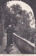 CARTOLINA - POSTCARD - RIETI - GRECCIO - ROMITORIO DEL B. GIOVANNI DA PARMA E INGRESSO ALLA SELVA - Rieti