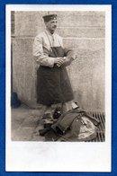 Carte  Photo  - Soldat Allemand --  Cordonnier  -  9/5/1915 - War 1914-18