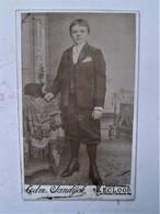 Antiek Fotootje Op Karton Door Fotograaf EDM. SANDIJCK  EECLOO - Eeklo
