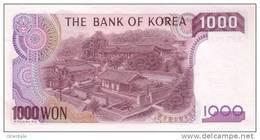 KOREA SOUTH P. 47 1000 W 1983 UNC - Corée Du Sud