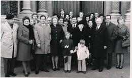 MERELBEKE  FOTO 1973  -  14 X 9 CM - GOUDEN BRUILOFT  - A. GOSSEY  GERMAINE DE RIDDER - Merelbeke