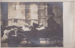 Carte Photo: Moulins (03)  Souvenir Du Couronnement De La Vierge Noire 1910  Calèche Photo Scharlowsky - Lieux