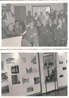 WETTEREN 2  FOTO 1973  -  12 X 8 CM - TENTOONSTELLING   KWB - Wetteren