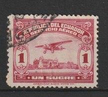 MiNr. 291 Ecuador / 1930, 9. Jan. Freimarken: Flugzeug über Strandpromenade Von Guayaquil. - Ecuador
