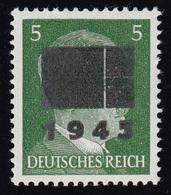 Netzschkau-Reichenbach 4IIb Freimarke 5 Pf Mit Schwärzung Typ IIb, ** - Allemagne